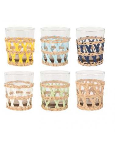 Set of glasses x 6 Lacis multicolor Lacis - Côté Table - Inspirations d'Intérieurs
