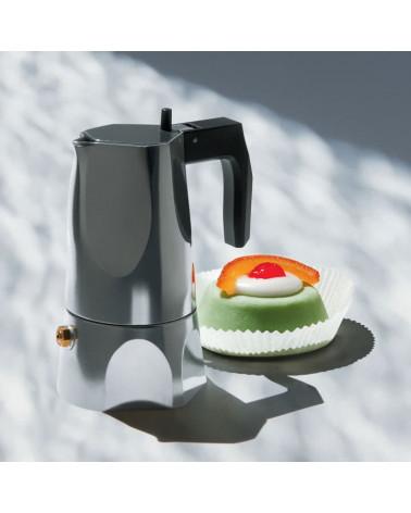 Cafetière espresso OSSIDIANIA MT18/3 Alessi Inspirations d'Intérieurs