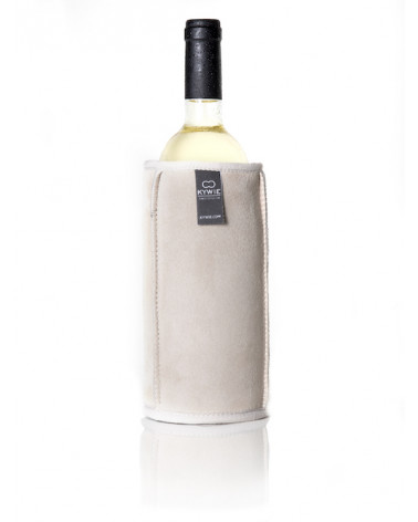 WINE COOLER - 750 ml - BEIGE SUEDE - KYWIE