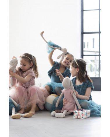 Bolero 4-6 ans bleu Petrol - Maileg - Inspirations d'Intérieurs