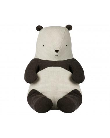 Panda medium peluche lin - Maileg - Inspirations d'Intérieurs