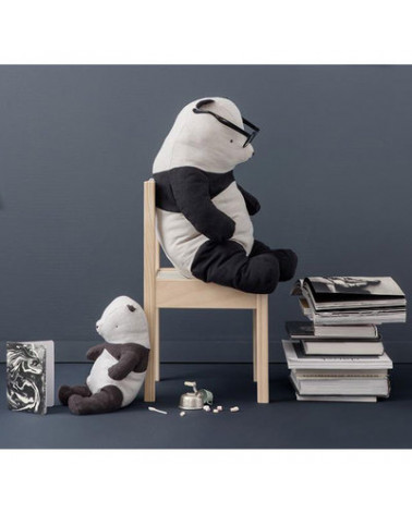 Panda large papa peluche lin - Maileg - Inspirations d'Intérieurs