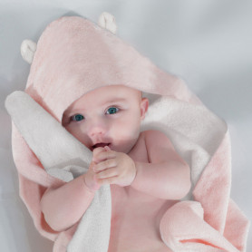 Baby hooded blanket Mathilde M.