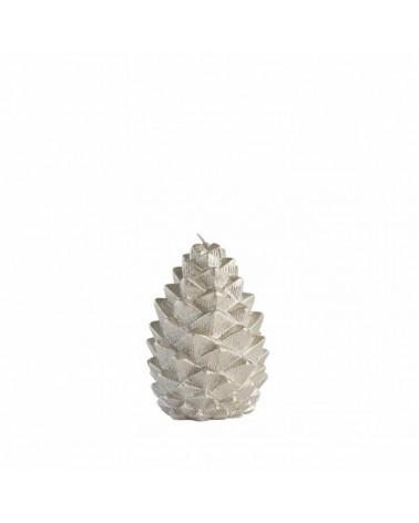 Bougie noël pomme de pin 10 cm - Lene Bjerre - Inspirations d'Intérieurs
