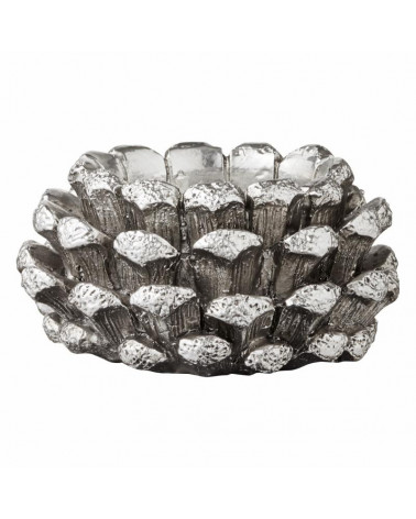 Bougeoir serafina couleur silver 5 cm- Lene Bjerre - Inspirations d'Intérieurs