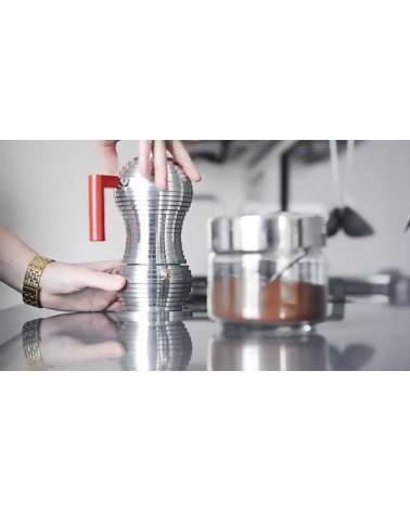 Pulcina Induction Espresso Coffee Maker - Alessi - Inspirations d'Intérieurs