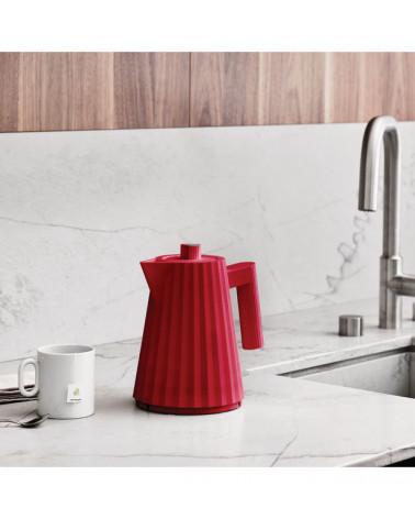 Plissé electric kettle 1 L - Alessi - Inspirations d'Intérieurs