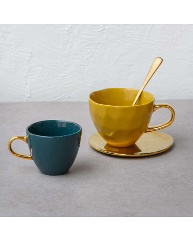 Good morning small plate for cup - Urban nature culture - Inspirations d'Intérieurs