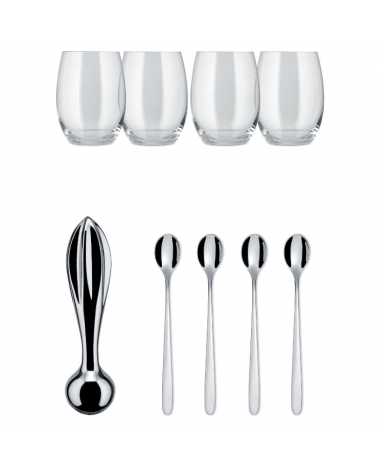 Mixing kit The Player 9 pieces - Alessi- Inspirations d'Intérieurs