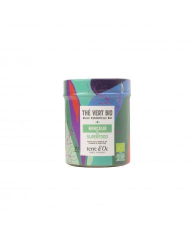 Organic green tea Superfood Slimming - TERRE D'OC - Inspirations d'Intérieurs