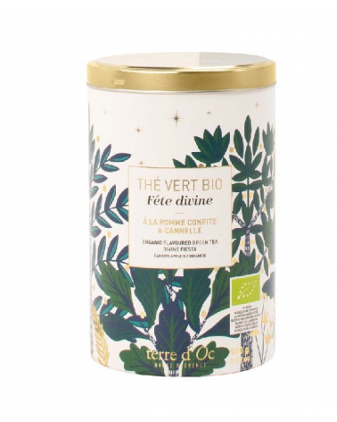 Organic Flavoured green tea Divine day  - TERRE D'OC - Inspirations d'Intérieurs