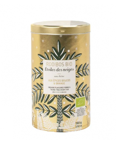 Organic flavoured rooibos theine freee Snow Star  - TERRE D'OC - Inspirations d'Intérieurs