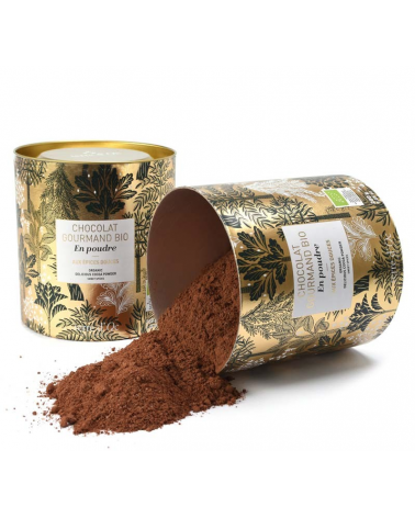 Organic gourmet chocolate powder with sweet spices - Terre d'Oc - Inspirations d'Intérieurs