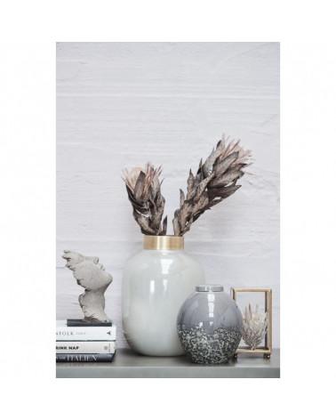 Alma vase 24x24x33 cm marron or -Lene Bjerre- Inspirations d'Intérieurs
