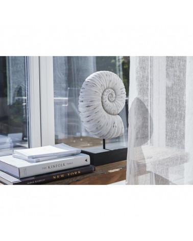 Coquille blanc antique décorative serafina 20,5x9,5x39 cm -Lene Bjerre- Inspirations d'Intérieurs