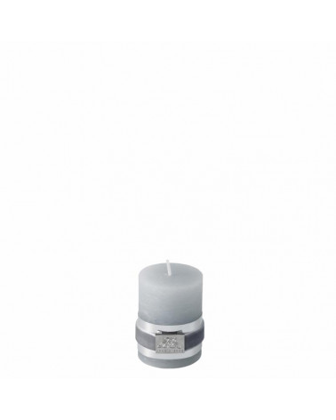 Rustic paraffin candle light grey 6 cm  -Lene Bjerre- Inspirations d'Intérieurs