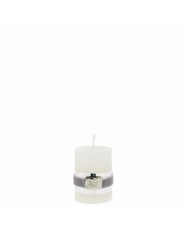 Bougie cylindrique rustic blanc cassé 6 cm - Lene Bjerre - Inspirations d'Intérieurs