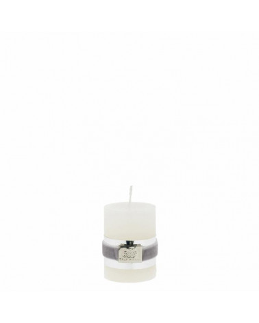 Rustic paraffin candle off white 6 cm  -Lene Bjerre- Inspirations d'Intérieurs