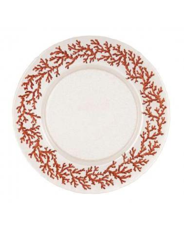 Assiette Estran Set de 6 D33 cm - Côté Table - Inspirations d'Intérieurs