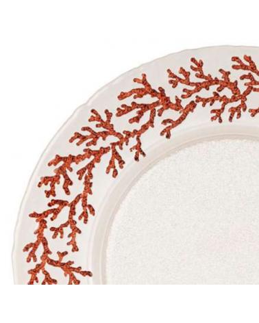 The 6 Estran plates D33 cm - Côté Table - Inspirations d'Intérieurs