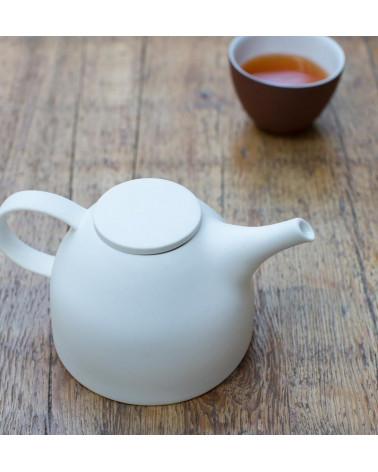 Tea pot clay white - Urban Nature Culture - Inspirations d'Intérieurs