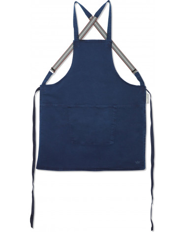 Apron Suspender Canva Dark Blue - Dutchdeluxes - Inspirations d'Intérieurs