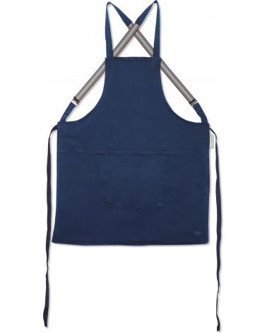 Tablier Suspender Canva Dark Blue - Dutchdeluxes - Inspirations d'Intérieurs