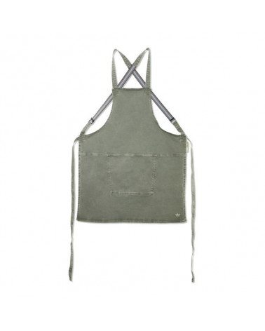 Apron Suspender Canva Grey Green - Dutchdeluxes - Inspirations d'Intérieurs