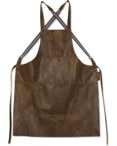 Apron Suspender Leather Vintage Cognac - Dutchdeluxes - Inspirations d'Intérieurs