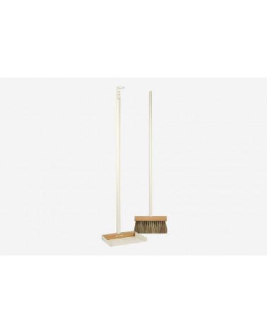 Pelle + Balayette longue – Blanc - Andrée Jardin - Inspirations d'Intérieurs