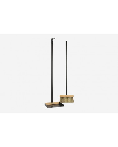Shovel + Long brush - Black - Andrée Jardin - Inspirations d'Intérieurs