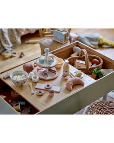 Konrad Play Set, Food, Nature, Beech - Bloomingville - Inspirations d'Intérieurs