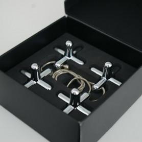 Dessous de plat acier modulable Tripod Alessi - Inspirations d'Intérieurs