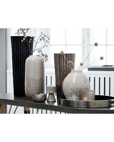 Vase en céramique crème Lene Bjerre design - Inspirations d'Intérieurs