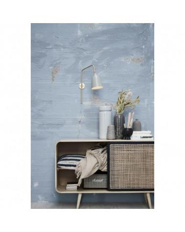 Vase en céramique gris bleu clair Lenebjerre design - Inspirations d'Intérieurs