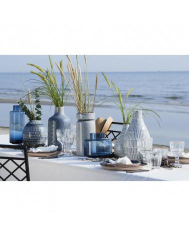 Vase en céramique bleu Lene Bjerre Design - Inspirations d'Intérieurs