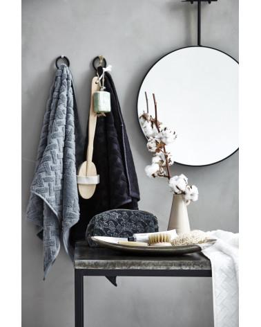Petite trousse de toilette velours noir 21x9 - Inspirations d'Intérieurs