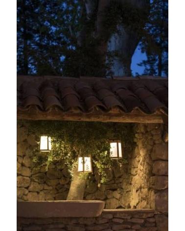 Lanterne Solaire en teck Tecka - Les Jardins - Inspiratins d'Intérieurs