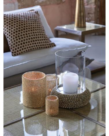Tealight holder KALIFA natural Small Model - Blanc d'Ivoire - Inspirations d'Intérieurs