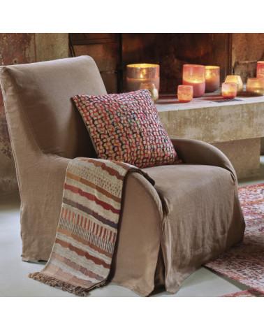 Cushion Alisa 50x50 - Blanc d'Ivoire - Inspirations d'Intérieurs